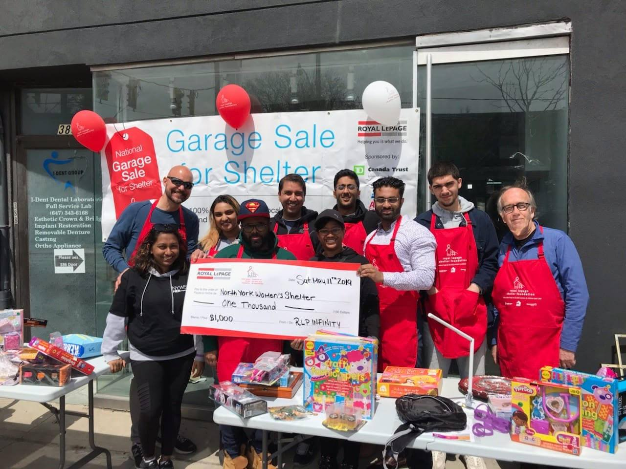 Supporting the North York Women Shelter