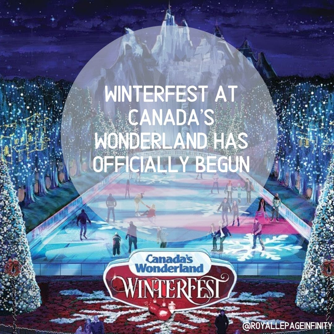 WINTERFEST AT CANADA'S WONDERLAND